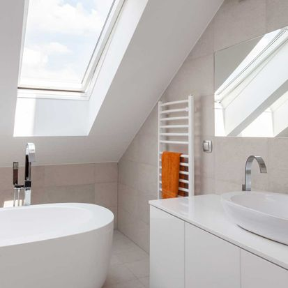 A bathroom that our experts have worked on